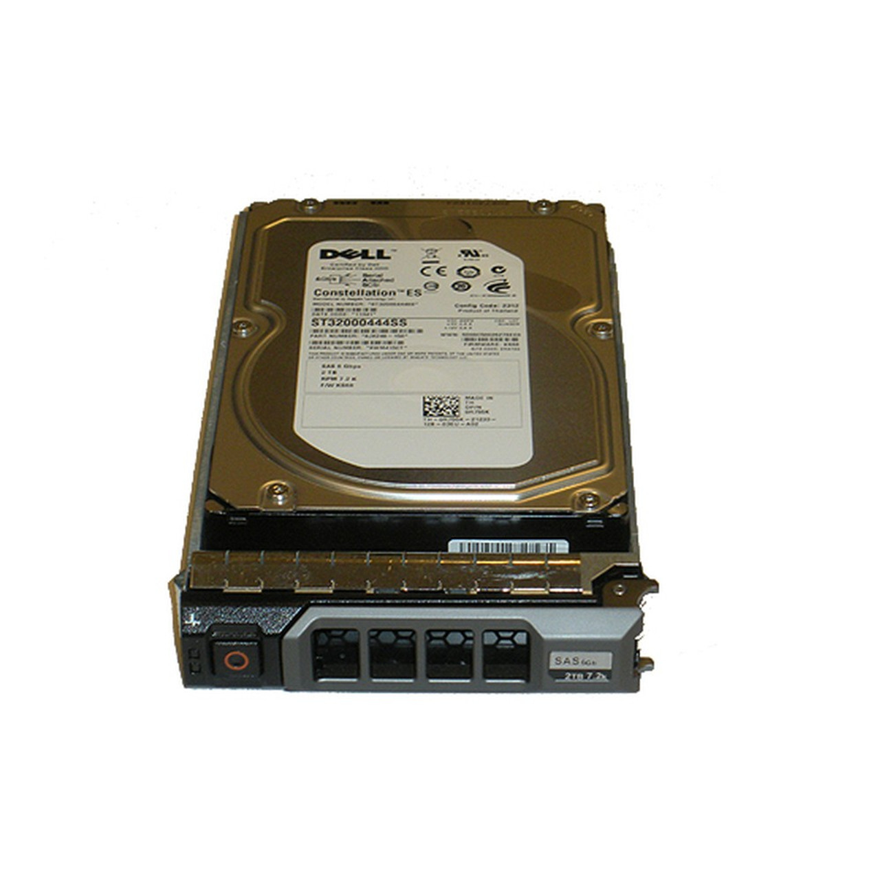 """Dell Poweredge Powervault 2Tb 7.2K 3.5/"""" SAS in tray Qty available"""