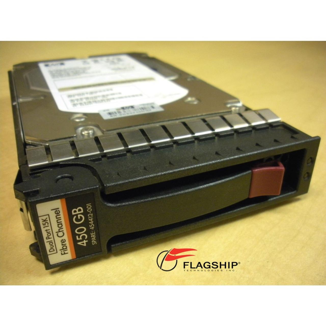 HP AG803A//AG803B//454412-001 450GB 15K FC HARD DRIVE