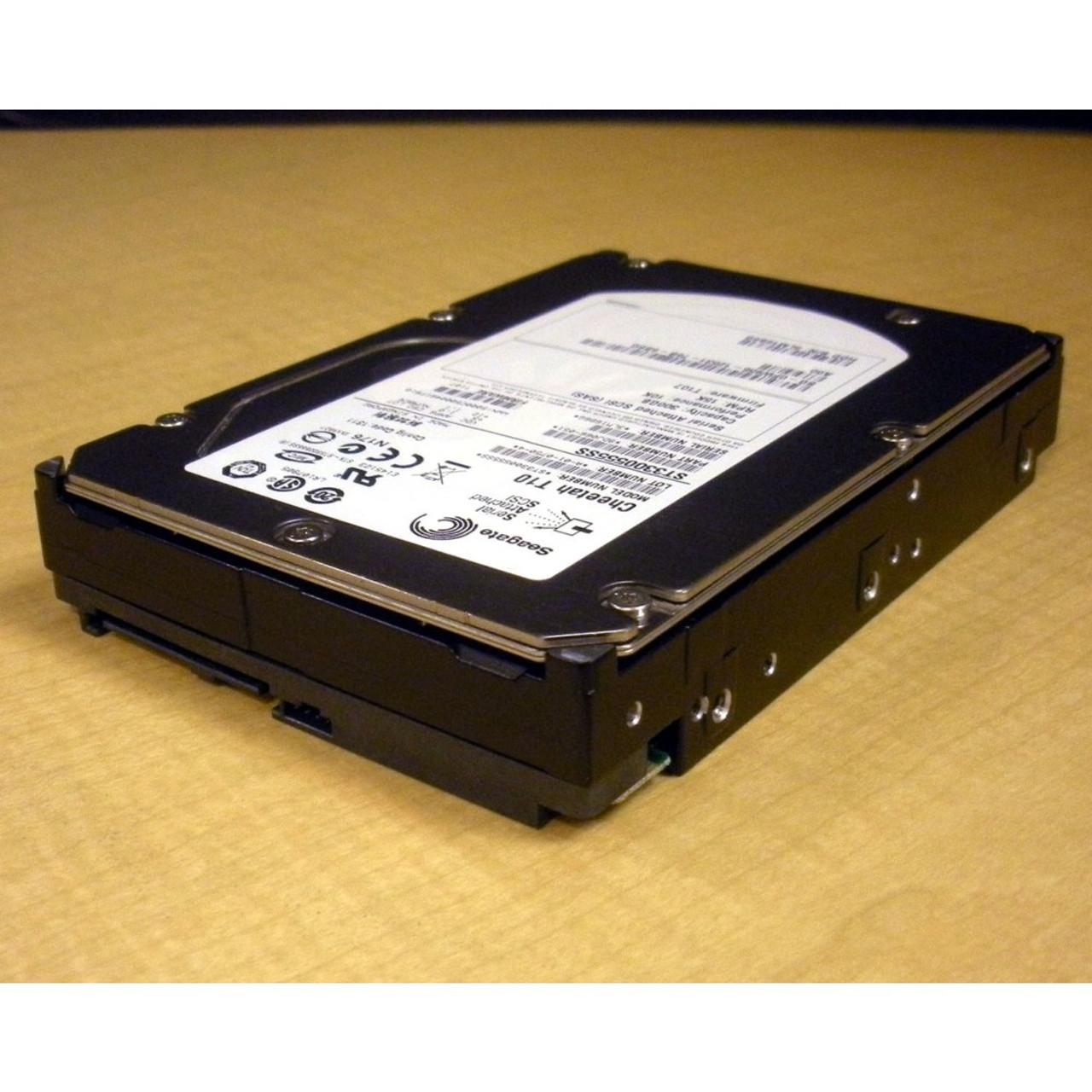 "SEAGATE ST3300555SS 300GB 10K 3.5/"" SAS HARD DRIVE"