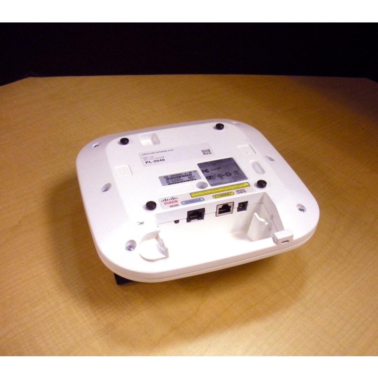 Cisco AIR-CAP2602E-A-K9 Dual-Band 802 11a/g/n CleanAir Wireless Access Point