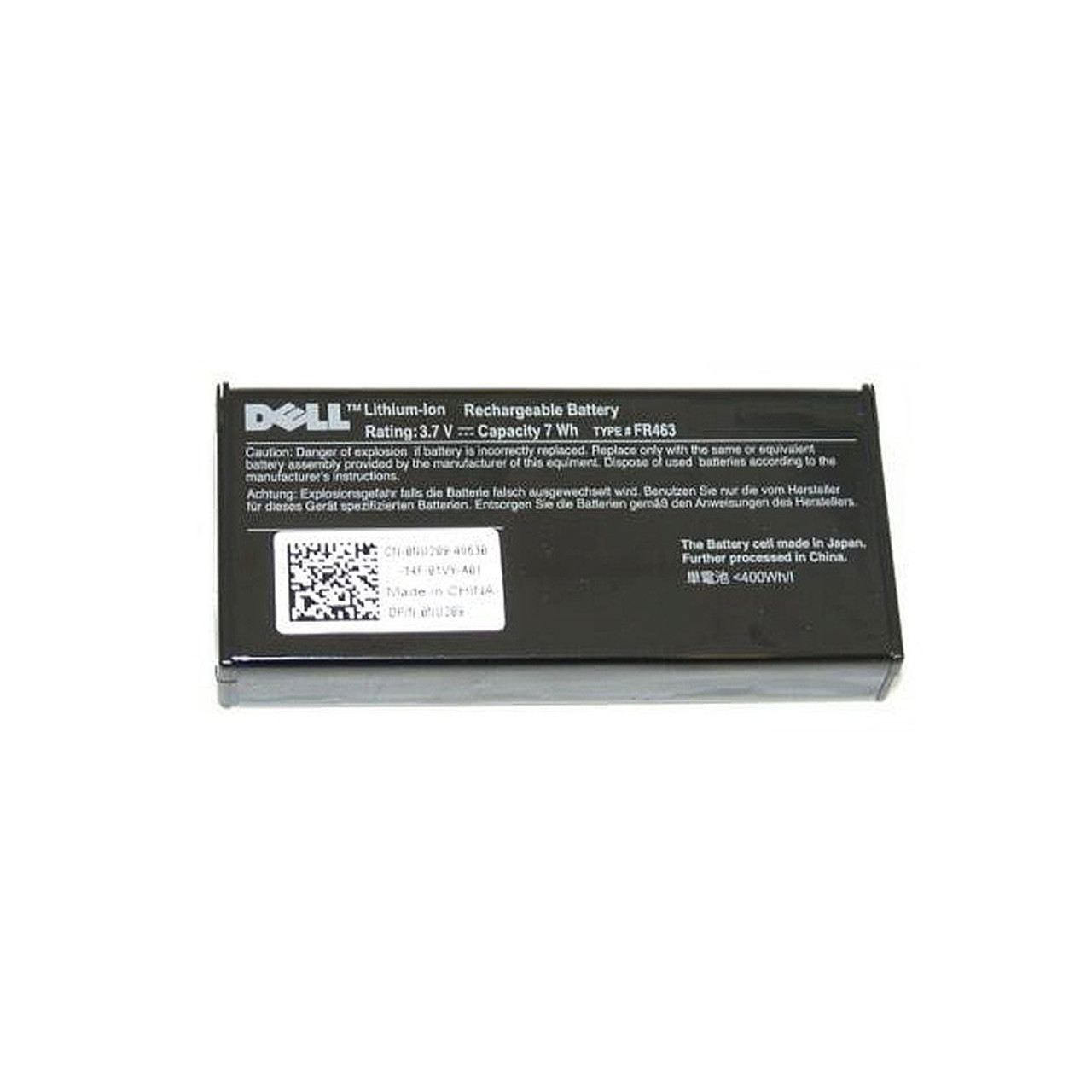 Dell U8735-N PowerEdge PERC 5/i 6/i H700 3 7V RAID Controller Battery NU209  Li-ion