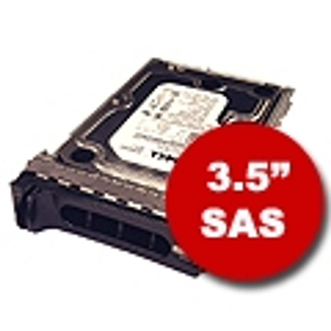 """3.5"""" SAS Hard Drives & Trays"""