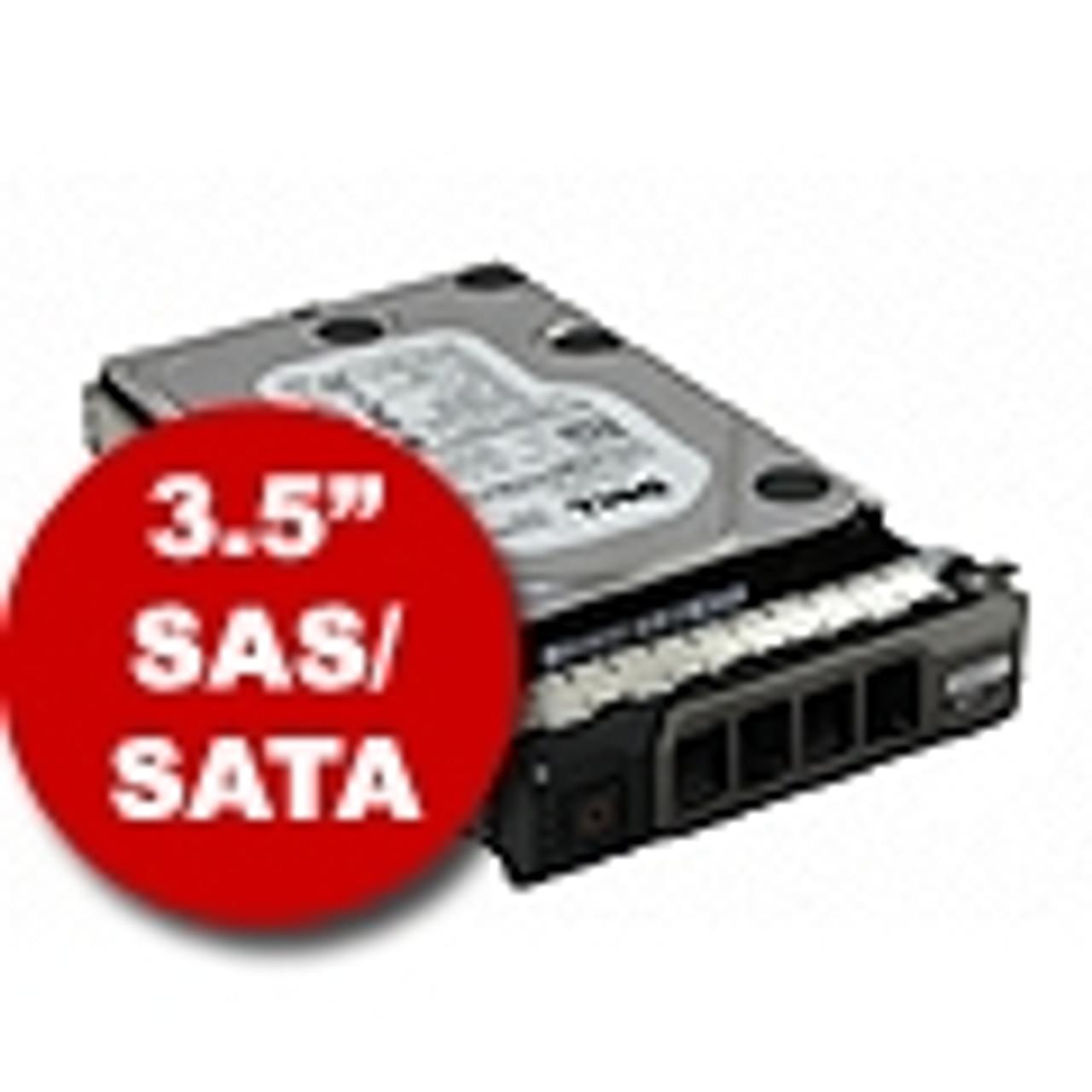 """3.5"""" SAS/SATA Hard Drives & Trays"""