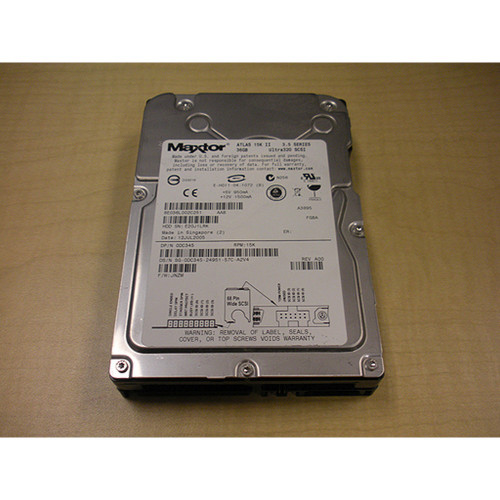 36GB 15K U320 SCSI 68Pin Hard Drive DC345 8E36L00