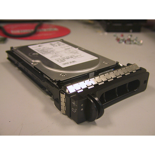 73GB 15K U320 SCSI 80Pin Hard Drive & Tray Maxtor 9X925 for Dell PowerEdge
