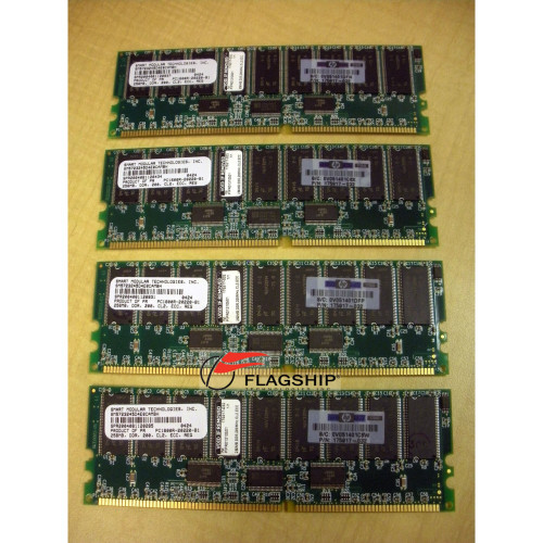 HP Compaq 202170-B21 1GB (4x 256MB) PC1600 Memory Kit 175017-032