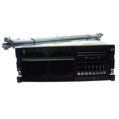 IBM 8205-E6B Power 740 2 CPU 16x 3.55 GHz Power Cores w/PVM all active