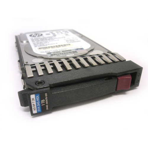 HP 660678-001 QK764A 1TB 7.2K 6G SAS SFF MDL Hard Drive for EVA M6625