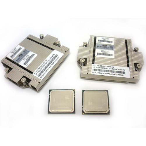 HP 539819-B21 539661-001 Opteron 8431 2.4GHz 6-Core Processor Kit 2P for BL685c G6 via Flagship Tech