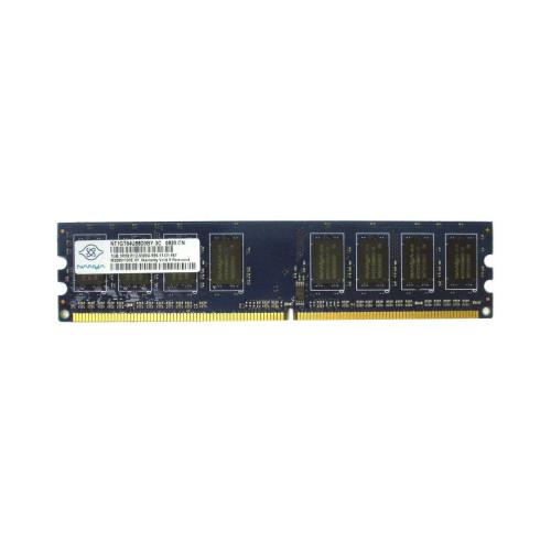 DELL WK007 1GB PC2-5300U 1RX8 667MHZ Non ECC Memory via Flagship Tech