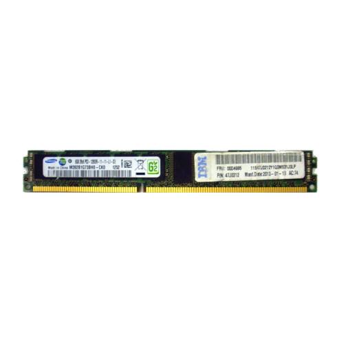 IBM 00D4995 8GB Ecc 2RX8 PC3-12800R ddr3-1600Mhz VLP Memory 47J0212