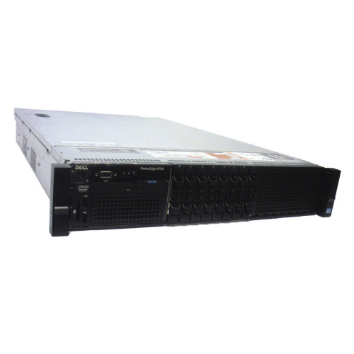 Dell R720 PowerEdge Server 8X 2.5 Bay Empty Chassis w/ Backplane Cables Fans 3 Risers via Flagship Tech