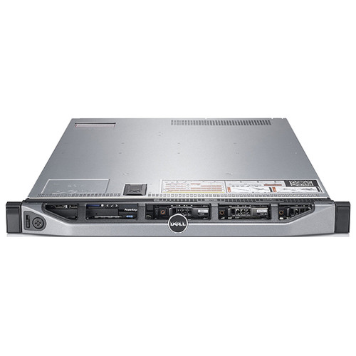 Dell PowerEdge R620 Server 2x 1.80GHz Quad-Core E5-2603 32GB 4x 146GB HD