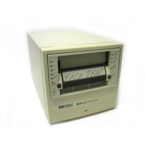 HP C1199H DLT4000 20/40GB Differential SCSI External Tape Drive A3590A