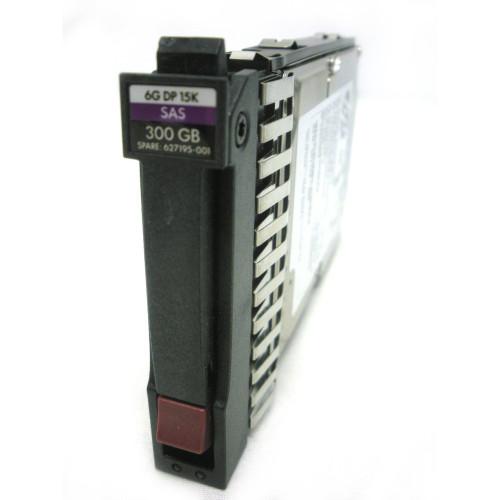 """HP 627195-001 627117-B21 300GB 6G SAS 15K SFF 2.5"""" Enterprise Hard Drive"""