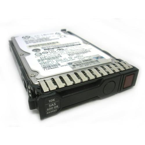 """HP 653957-001 652583-B21 600GB 6G SAS 10K SFF 2.5"""" SC Enterprise Hard Drive"""