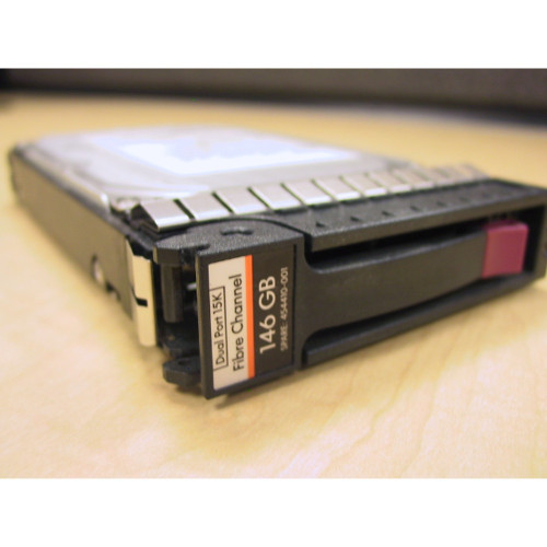 HP AG556A AG556B 454410-001 146GB 15K EVA M6412 Hard Drive