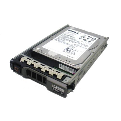 DELL R734K 500GB 7.2K 2.5 SAS Hard Drive w/Tray 0R734K via Flagship Tech