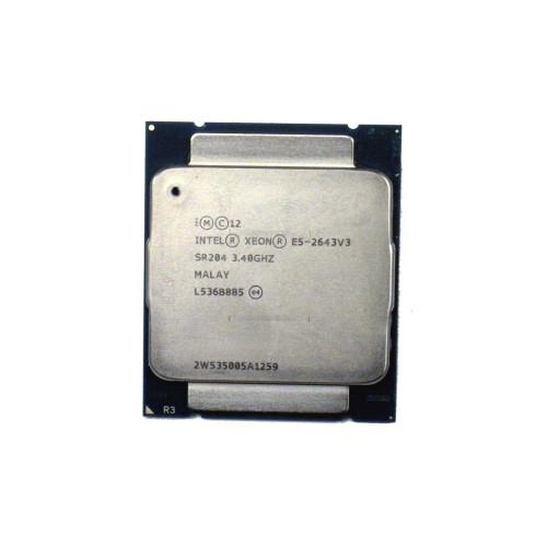Intel SR204 Processor 6-Core 3.4GHz Xeon E5-2643 V3
