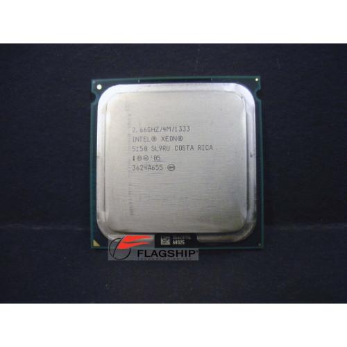 HP 416798-001 417721-001 Intel Xeon 5150 Dual Core 2.66GHz/4MB/1333MHz Processor via Flagship Tech