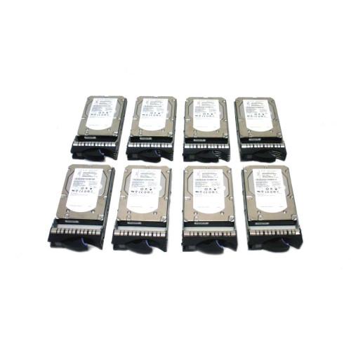 IBM 3678-9406 3678 283GB 15K SAS Hard Drive - Lot of 8