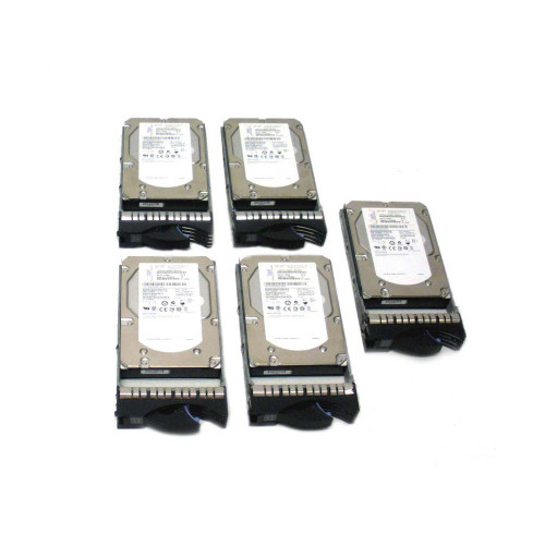 IBM 3678-9406 3678 283GB 15K SAS Hard Drive - Lot of 5