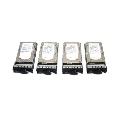 IBM 3678-9406 42R6692 42R6686 44V6853 283GB 15K SAS Hard Drive- Lot of 4