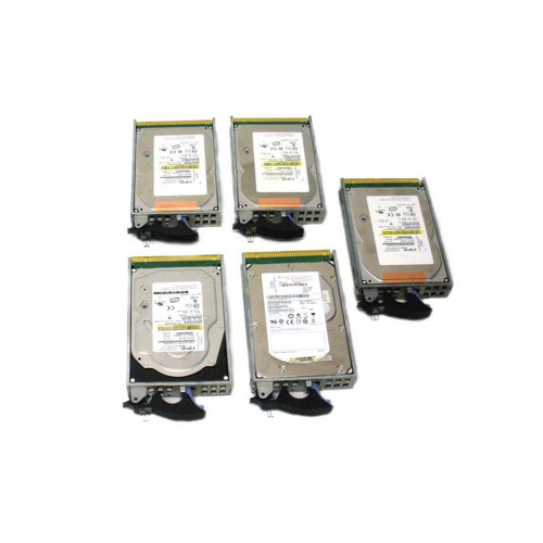 IBM 4328-9406 Hard Drive 141GB 15K SCSI  3.5in - Lot of 5
