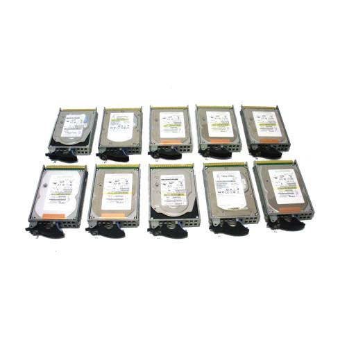 IBM 4328-9406 Hard Drive 141GB 15K SCSI 3.5in - Lot of 10