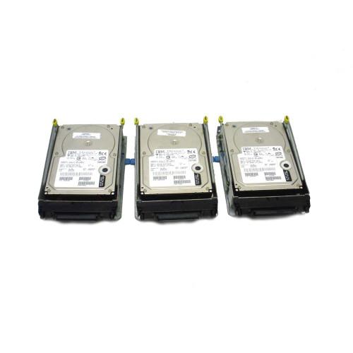 IBM 6818-9406 6818 17.54GB 10K SCSI Hard Drive AS/400 DASD Lot of 3 - 04N2737, 07N3163, 07N3186, 07N3196, 08K0304, 09L3932, 21P6856, 34L5438, 34L9194, 53P3241