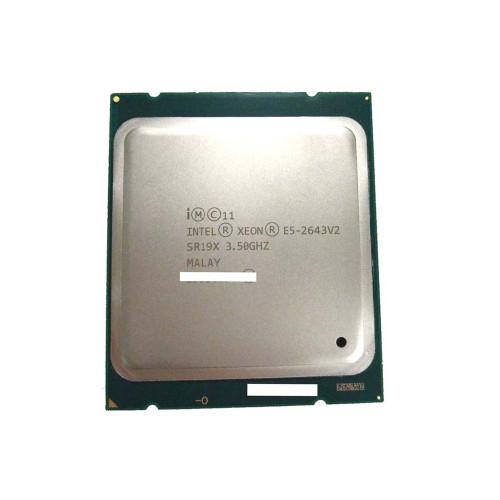 Intel Xeon SR19X E5-2643V2 3.5ghz 6-Core Processor via Flagship Tech
