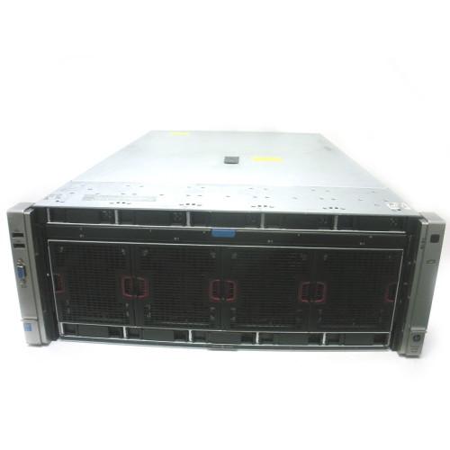 HP DL580 Gen8 E7-4830v2 2.2GHz 10-Core 4P 256GB RPS 2x900GB Server