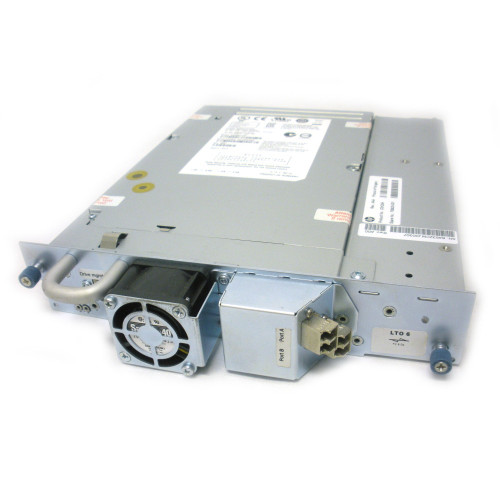 HP 706825-001 C0H28A MSL LTO-6 Ultrium 6250 HH 8Gb FC Tape Drive with tray