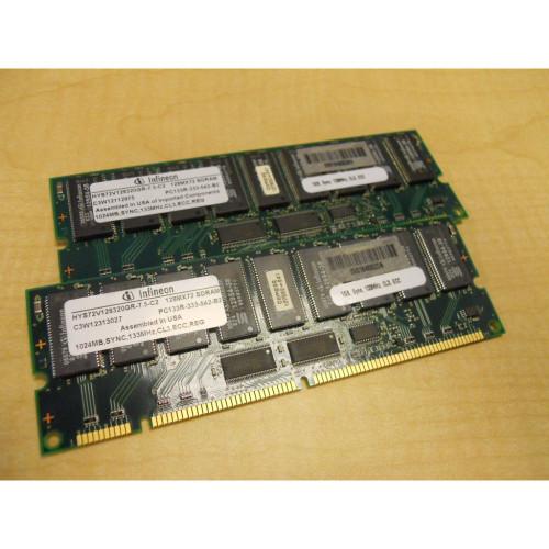 HP Compaq 201695-B21 2GB (2x 1GB) Memory Kit PC133 127008-041