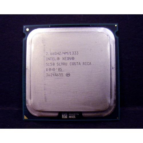 HP 417721-001 416798-001 Intel Xeon 5150 Dual Core 2.66GHz/4MB/1333MHz Processor via Flagship Tech