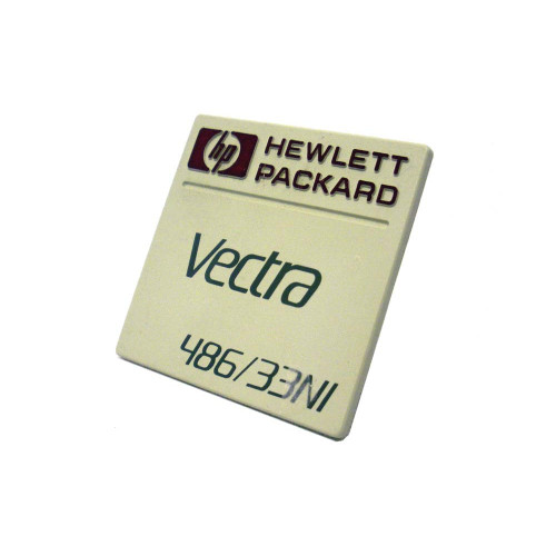 HP 5182-0328 Vectra 486/33NI Nameplate Series Logo via Flagship Tech