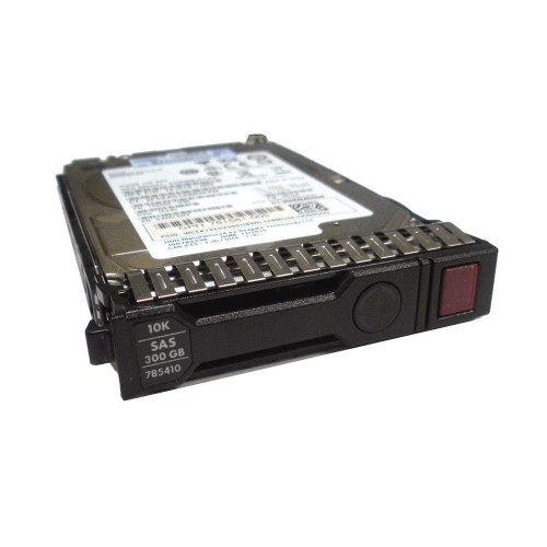 HP 785410-001 785067-B21 300GB 12G SAS 10K SFF 2.5in SC Ent Hard Drive via Flagship Tech