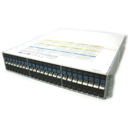 HITACHI 3285140-A 24-Slot SFF Disk Expansion Array w/24x 1.2TB 3282390-E
