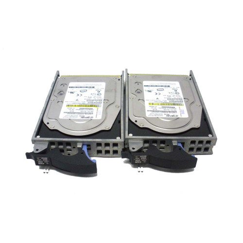IBM 4326-9406 4326 35GB 15K U3 SCSI Hard Drive - Lot of 2