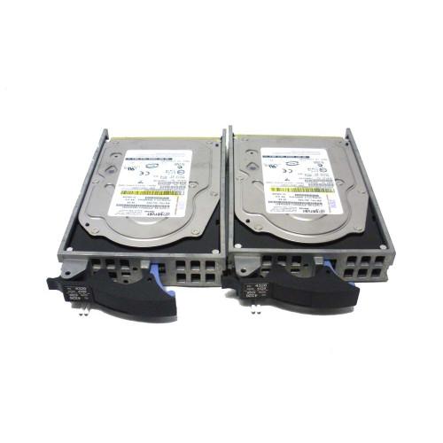 IBM 4326-9406 4326 35GB 15K U3 SCSI Hard Drive - Lot of 2