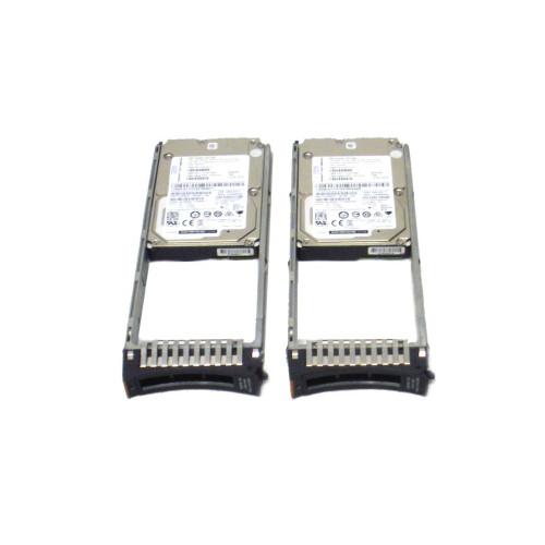 IBM AC58-2078 600GB 15K 12GB 2.5in SAS Interface Hard Drive Lot of 2 via Flagship Tech