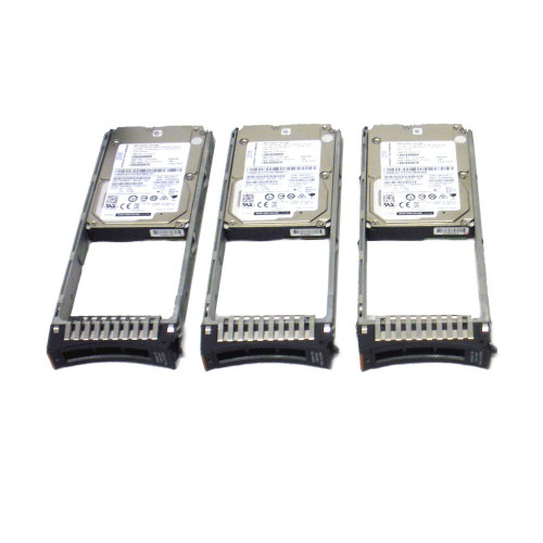 IBM AC58-2078 600GB 15K 12GB 2.5in SAS Interface Hard Drive Lot of 3 via Flagship Tech