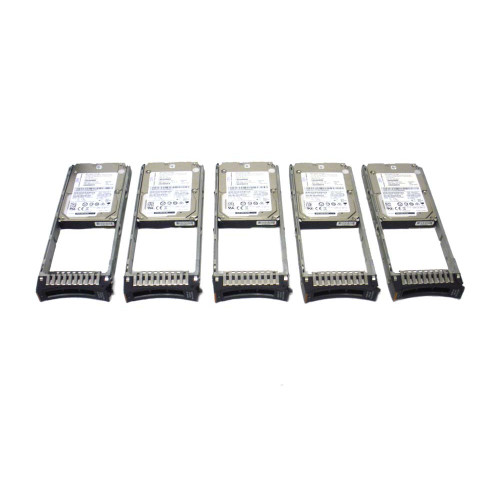 IBM AC58-2078 600GB 15K 12GB 2.5in SAS Interface Hard Drive Lot of 5 via Flagship Tech
