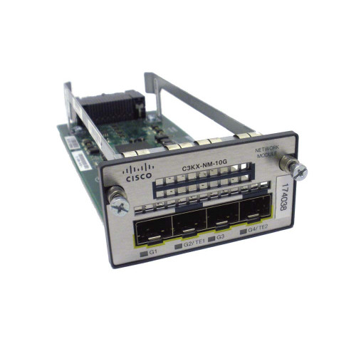 Cisco C3KX-NM-10G 4-Port 10G Network Module via Flagship Tech