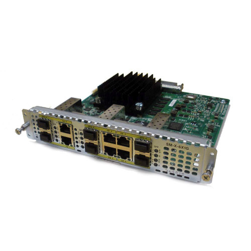 Cisco SM-X-6X1G 6-Port High-Density GB Ethernet WAN Service Module via Flagship Tech