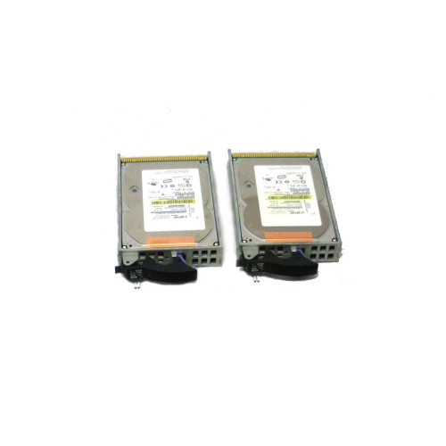 IBM 4328-9406 Hard Drive 141GB 15K SCSI 3.5in - Lot of 2
