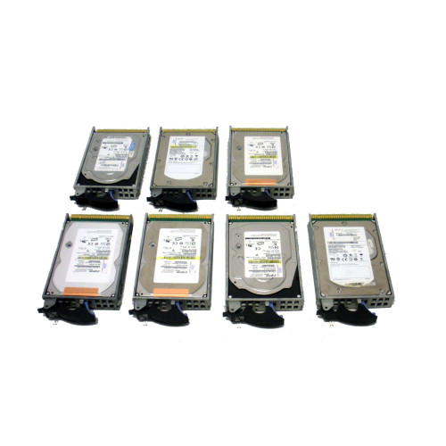 IBM 4328-9406 Hard Drive 141GB 15K SCSI 3.5in - Lot of 7