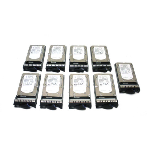 IBM 3678-9406 3678 283GB 15K SAS Hard Drive - Lot of 9