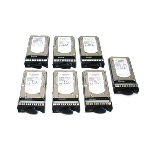 IBM 3678-9406 3678 283GB 15K SAS Hard Drive - Lot of 7