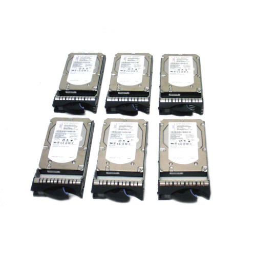IBM 3678-9406 3678 283GB 15K SAS Hard Drive - Lot of 6